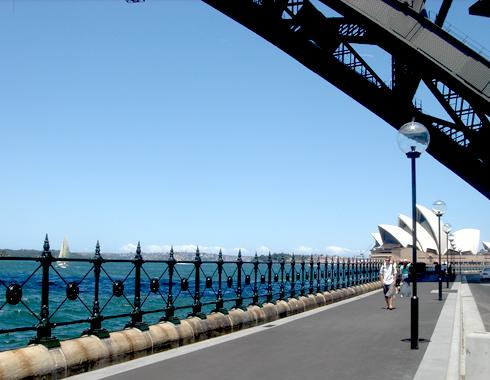 Dawes Point, Sydney Harbour Balustrade - Gates and Fences - Wrought Artworks - Iron work Australia