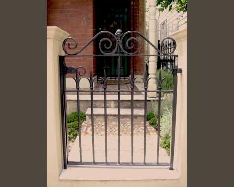 Traditional Victorian Front Gate Annandale - Gates and Fencing - Wrought Artworks - Iron work Australia