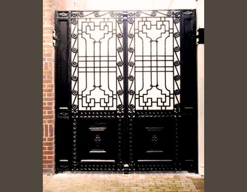 Empire Gate - Gates and Fences - Wrought Artworks - Iron work Australia