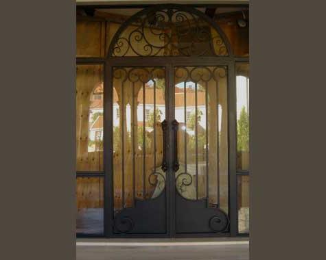 Grand Italian Entrance Door Security Doors And Grills