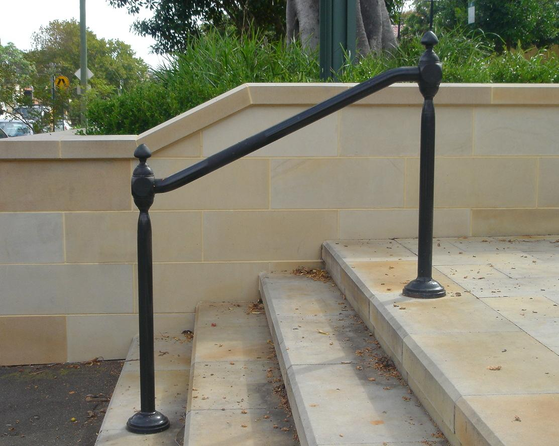 Hollis Park Hand Rails - Cast Iron Work - Wrought Artworks - Iron work Australia