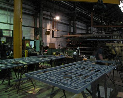 Workshop capability - Casting - Wrought Artworks - Iron work Australia