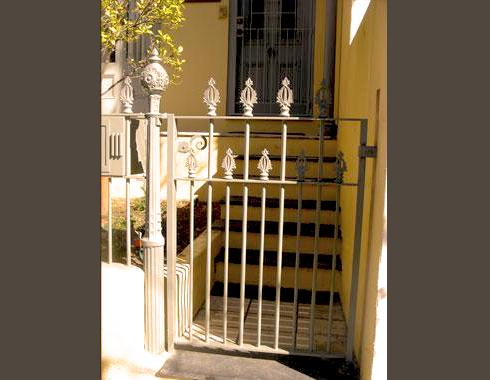 Classic Victorian gate - Gates and Fences - Wrought Artworks - Iron work Australia