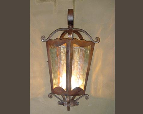 Spanish lantern - Lighting - Wrought Artworks - Iron work Australia
