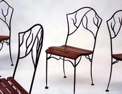 Twiggy Chair - Tables and Chairs - Wrought Artworks - Iron work Australia