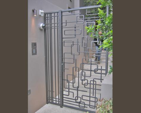 Contemporary Compound Gate Designs Stainless steel gate design