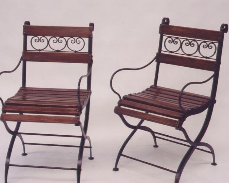 Conservatory Chair - Tables and Chairs - Wrought Artworks - Iron work Australia