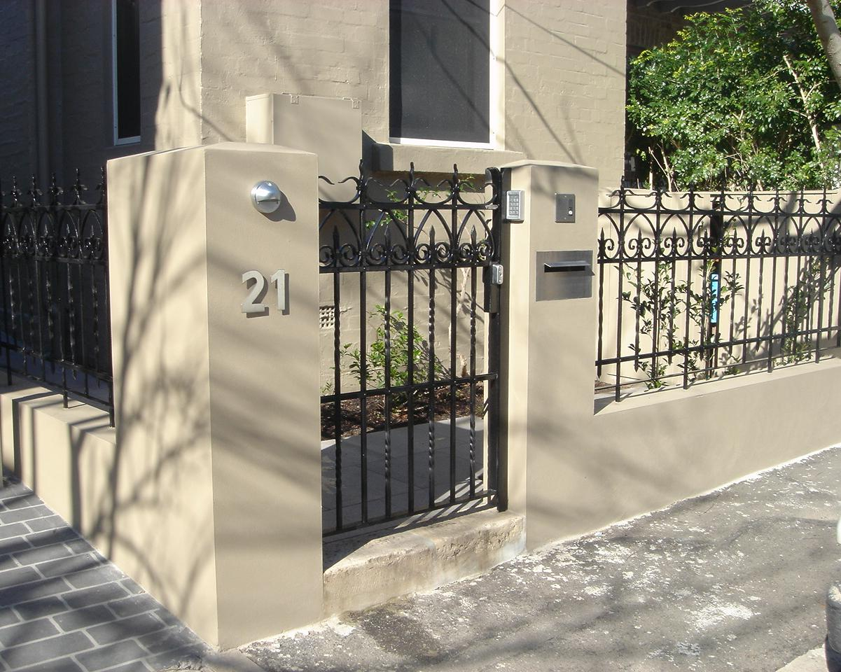 Reworked Wrought Iron Antique Panels   Gates And Fencing   Wrought Artworks    Iron Work Australia