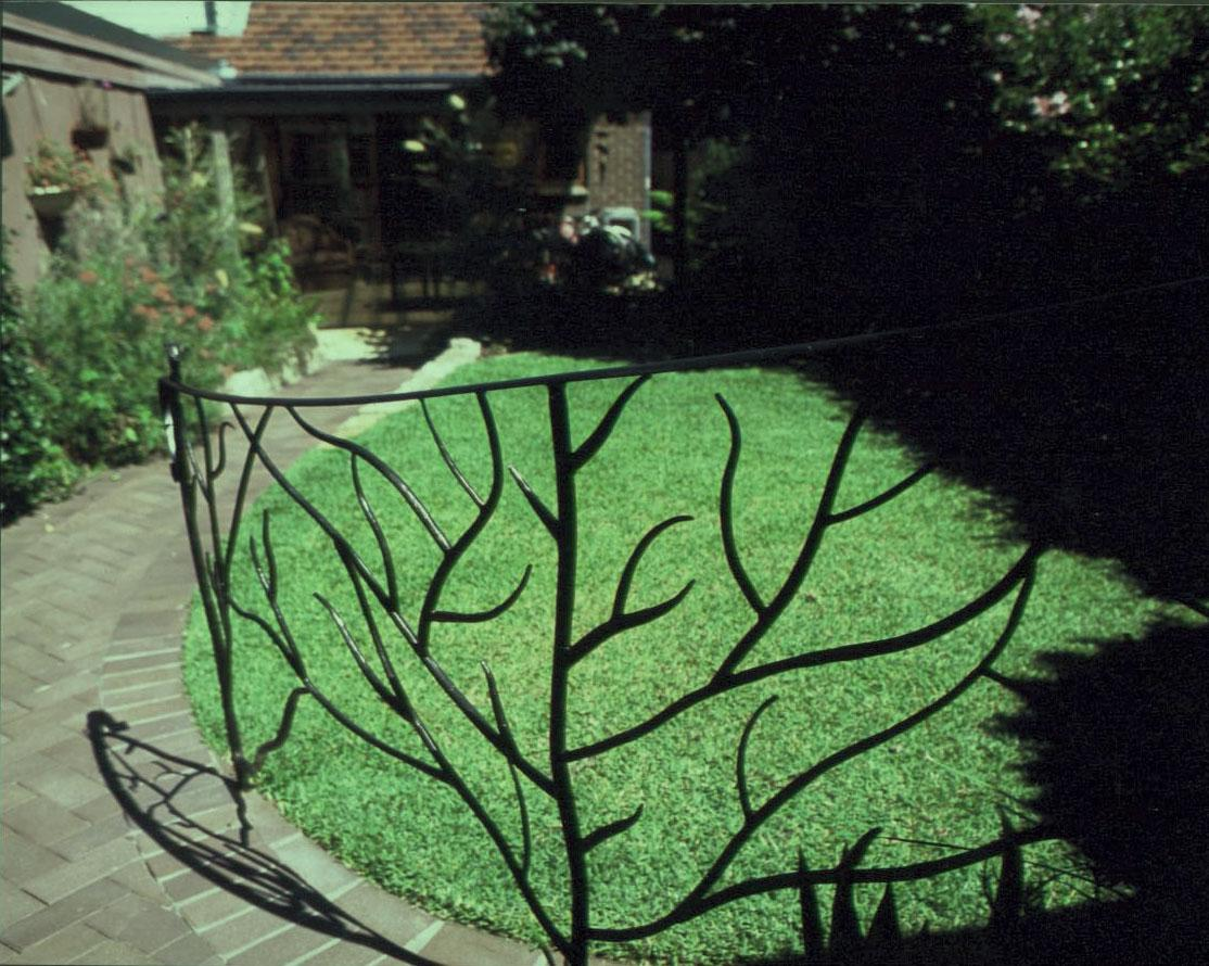 Twiggy Hand Rail - Gates and Fencing - Wrought Artworks - Iron work Australia