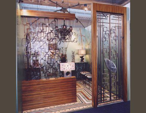 Mid Century Modern Security Door For DesignEX   Security Doors And Grills    Wrought Artworks   Iron Work Australia