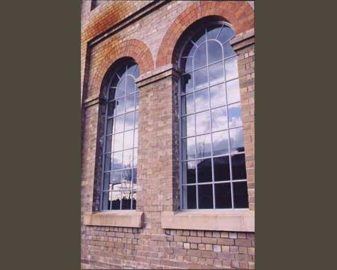 Cast Iron Window Frames- Eveleigh Locomotive Works - Cast Iron Work - Wrought Artworks - Iron work Australia