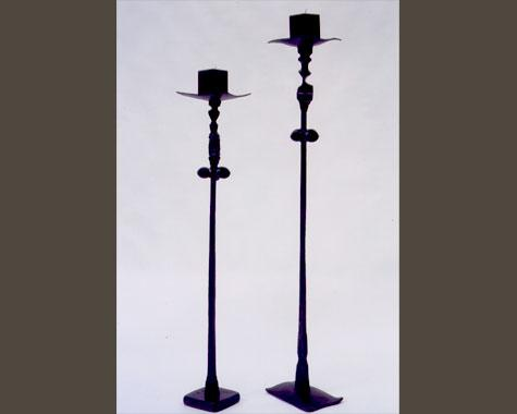 Blossfeldt Candlesticks - Lighting - Wrought Artworks - Iron work Australia