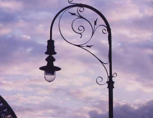 Street Lamps - The Rocks - Reproductions - Wrought Artworks - Iron work Australia