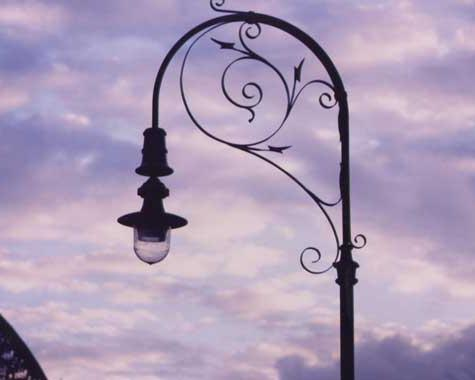 Street Lamp The Rocks - Fabrication - Wrought Artworks - Iron work Australia