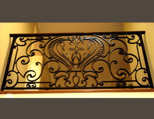 Venetian Stair  Case ( Detail ) - Staircasses - Wrought Artworks - Iron work Australia